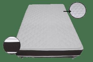 colchón ortopédico resortado pillow clasico