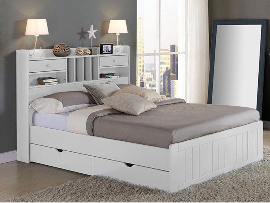 cabecero cama con almacenaje